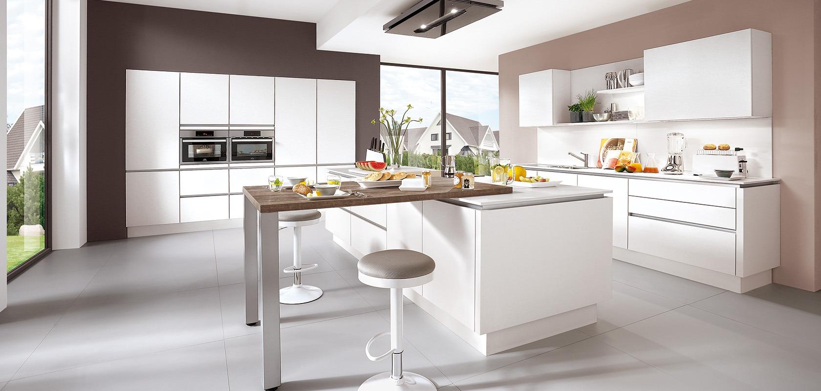 Cuisines Modernes Laser 427 – Blanc Alpin